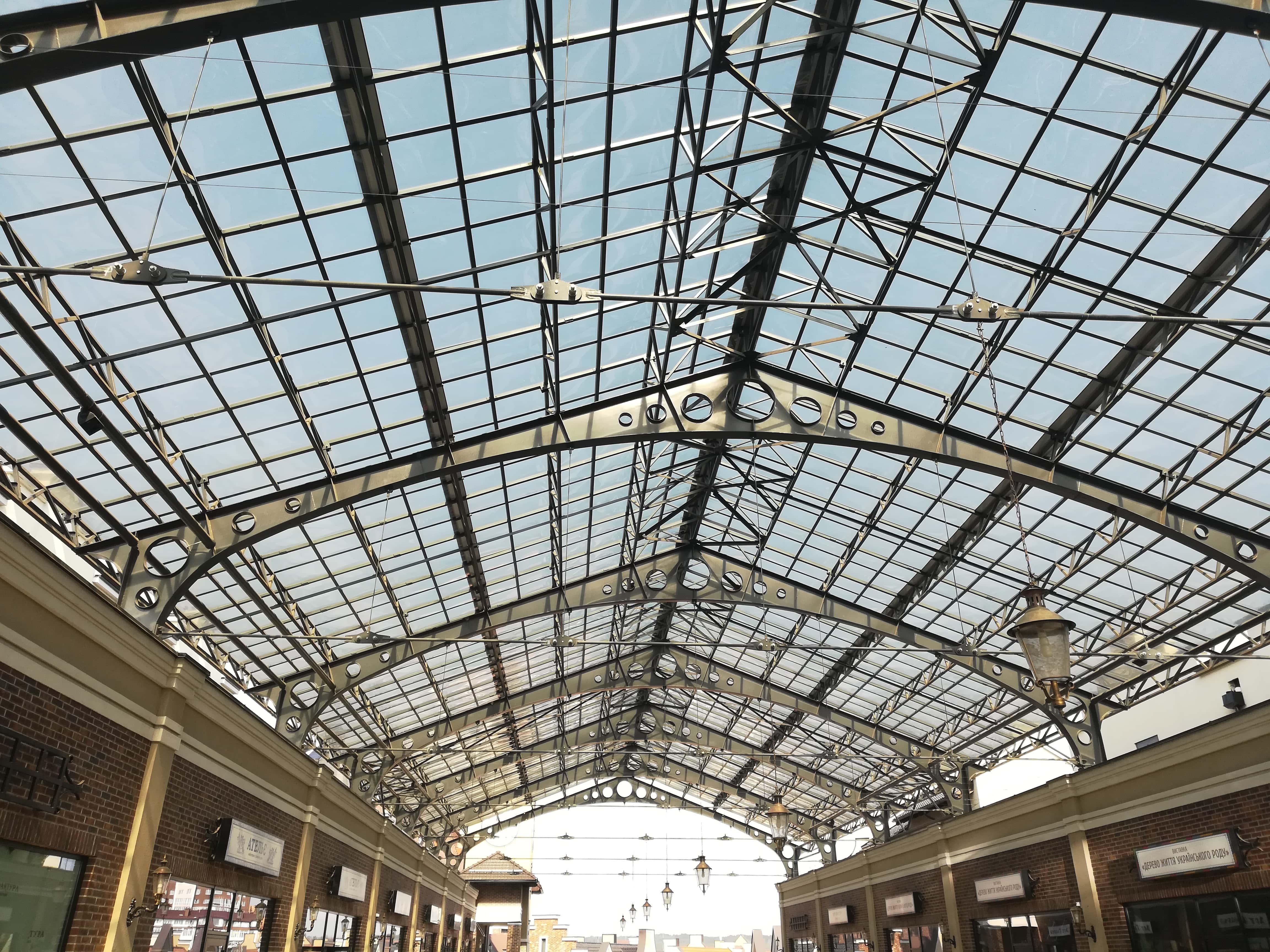 Архитектурные поликарбонатные системы